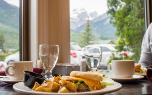 Breakfast-Park Place Lodge Hotel Fernie