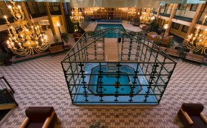 Hotel Atrium with Hot Tub and Pool
