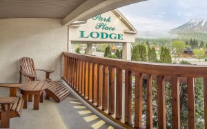 Park Place Lodge Balcony - Fernie Hotels