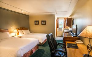 Standard Room with 2 Double Beds - Fernie Hotel