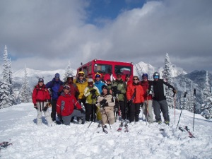 Catskiing with Fernie Wilderness Adventures