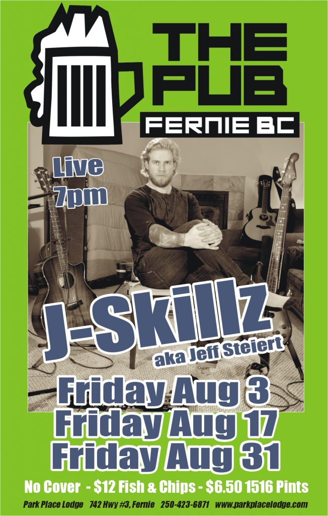 Live Music Fridays with J-Skillz – August 31