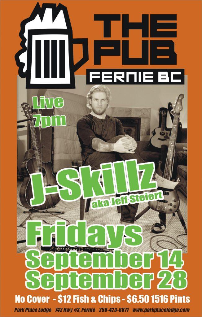 Live Music Fridays with J-Skillz – September 28