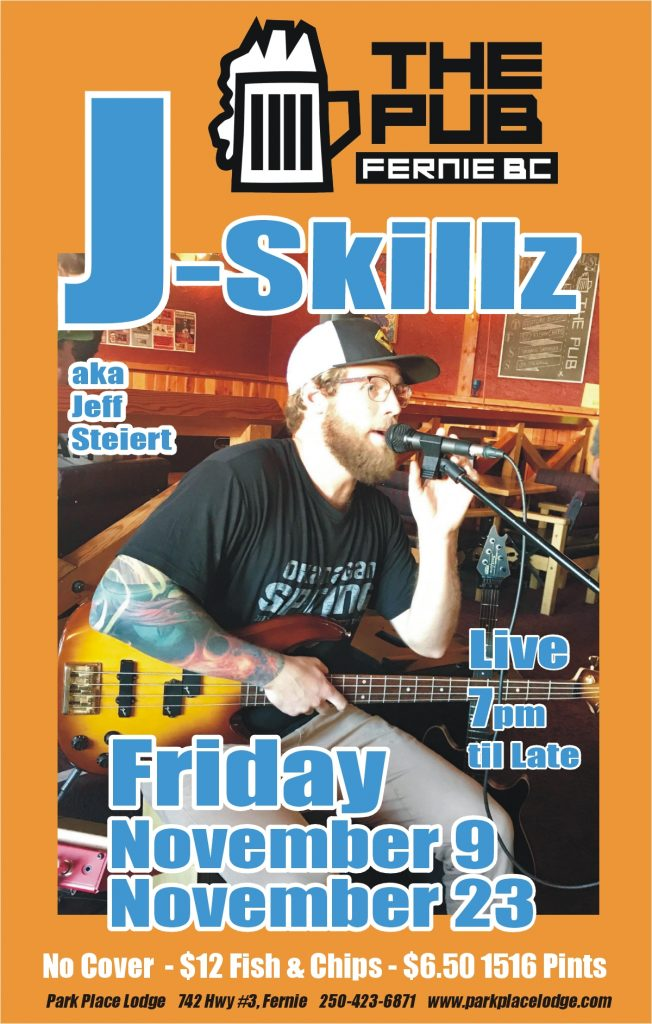 Live Music Fridays with J-Skillz – November 23